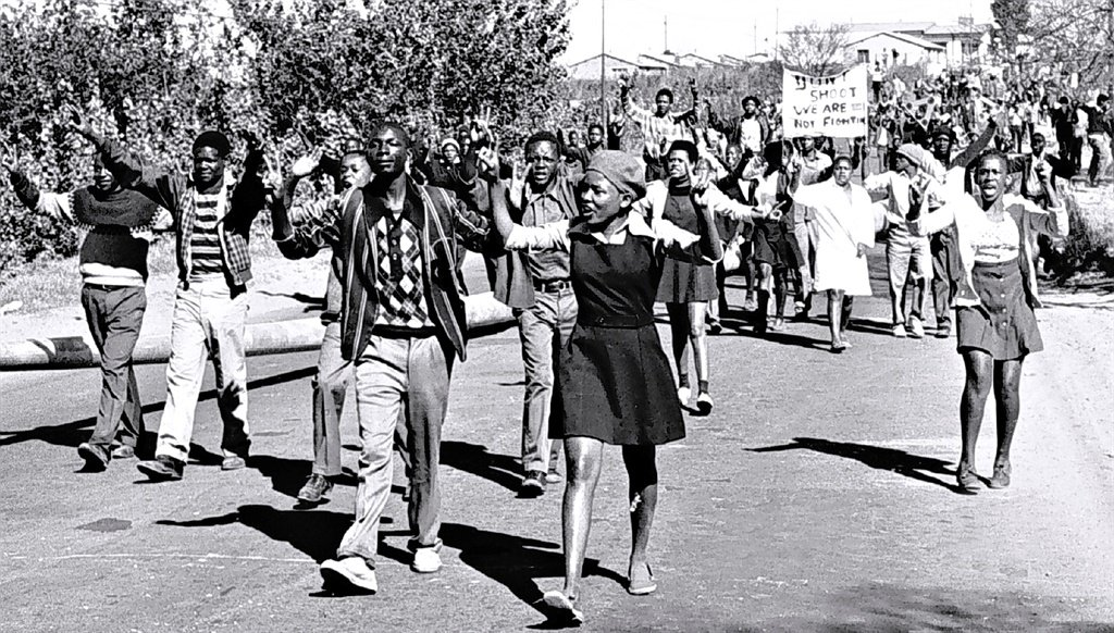 SOWETO - SOUTH AFRICA, JUNE 16: On 16 June 1976 h