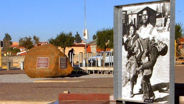 The Hector Peterson memorial in Soweto.