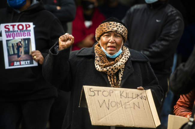 Stop Violence Against Women March in Pretoria