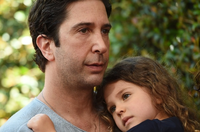 David Schwimmer and daughter Cleo. (Photo: Getty Images)
