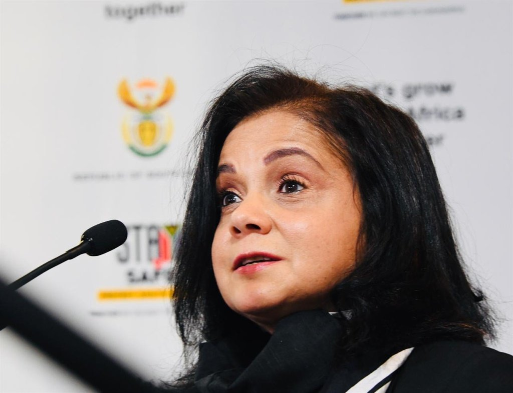 National Director of Public Prosecution advocate Shamila Batohi gave an update on the status of the investigations into VBS during a media briefing on Tuesday
