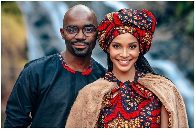 Dr. Musa Mthombeni and Liesl Laurie had their lobola negotiations on Saturday.
