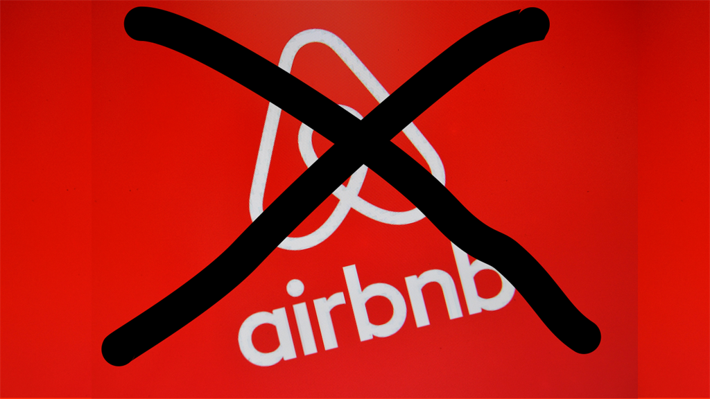 Airbnb banned