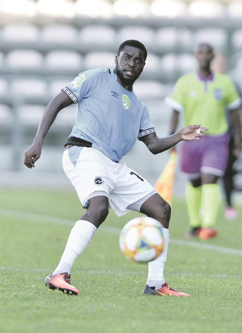 Nyiko Tshabangu is one of former Platinum Stars players who launched Cape Umoya United. Picture: Luigi Bennett / BackpagePix