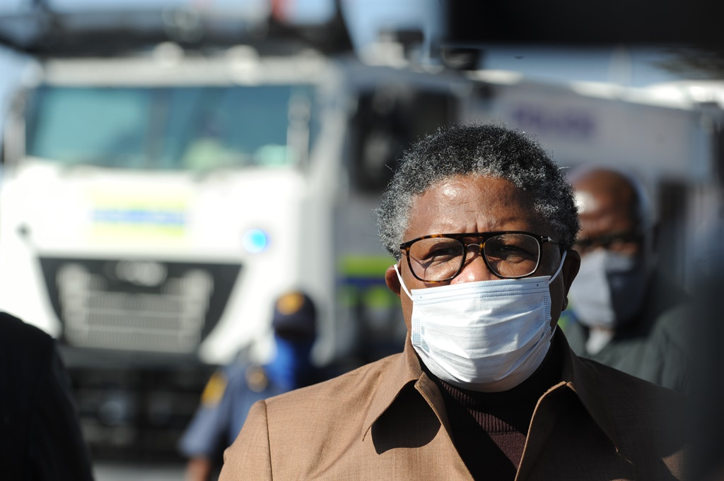Transport Minister Fikile Mbalula. Picture: Rosetta Msimango/City Press
