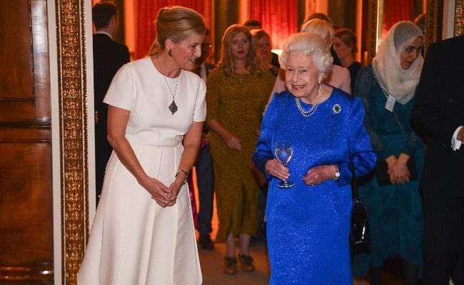 Sophie and Queen Elizabeth