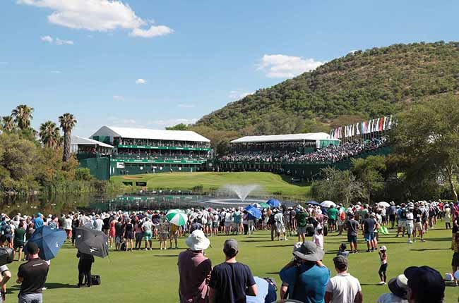 The Nedbank Golf Challenge in 2019. (Photo supplied by European Tour)