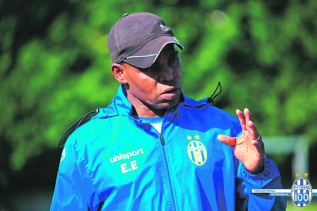 KF Tirana coach Ndubuisi Egbo Picture: KF Tirana website