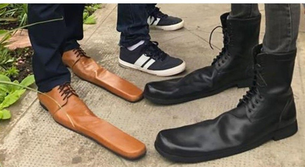 Social distancing shoes maybe?