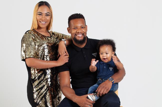 Judie Kama, Kay Sibiya and their son Doxa Kion Sibiya.
