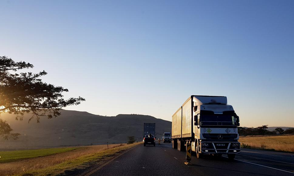 A nationwide strike against all trucking companies to remove non-South African drivers and replace them with local drivers.