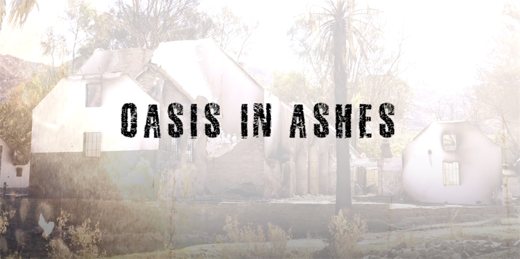 oasis in ashes, Wupperthal, fire, documentary