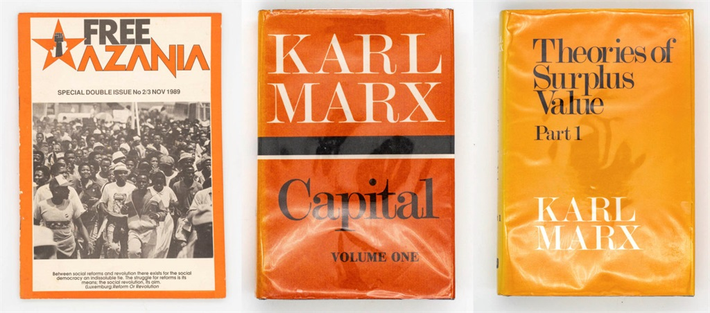 Some of the political magazines and books that can