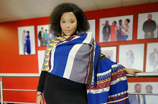 Local actress Pebetsi Matlaila.