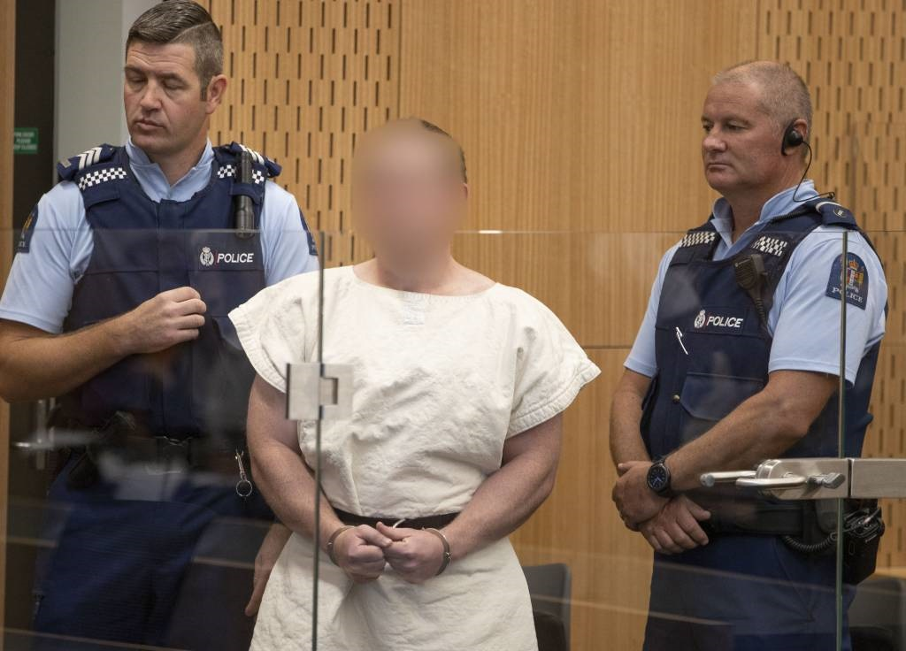 Brenton Tarrant, the man charged in relation to th