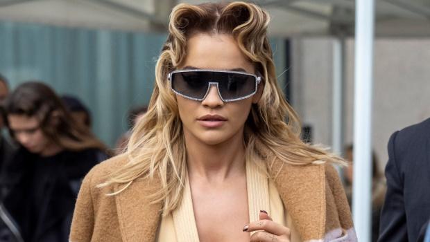 Rita Ora is seen during Paris Fashion Week Womenswear Fall/Winter 2020/2021 on March 03, 2020 in Paris, France. (Photo by Arnold Jerocki/GC Images)