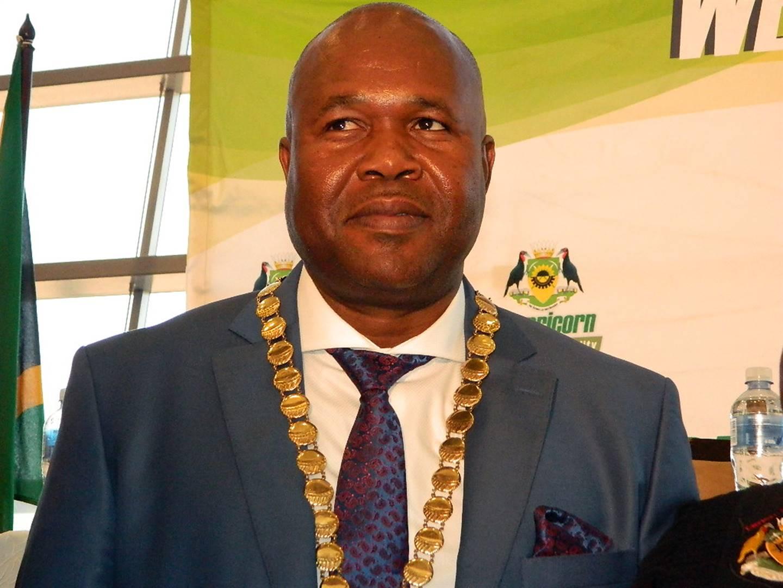 Capricorn District Municipal Mayor John Mpe. Picture: Phuti Raletjena