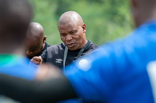 John Maduka, Head Coach of Bloemfontein Celtic during the Bloemfontein Celtic media open day at Siwelele Park on March 11, 2020 in Bloemfontein, South Africa.