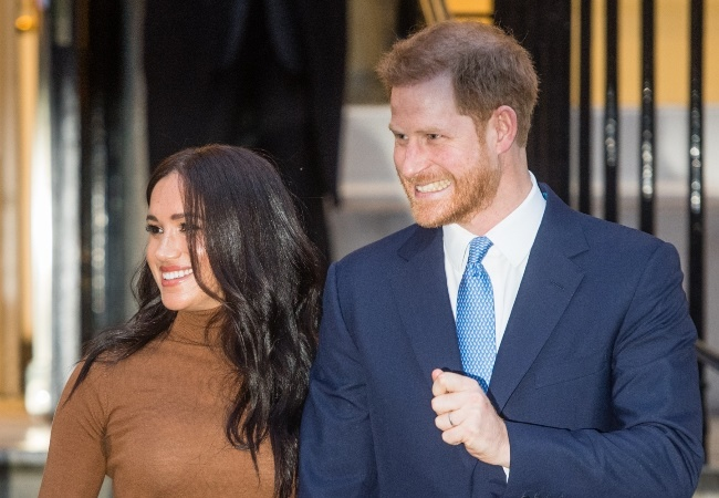 Meghan and Prince Harry. (Photo: Getty/Gallo Images)