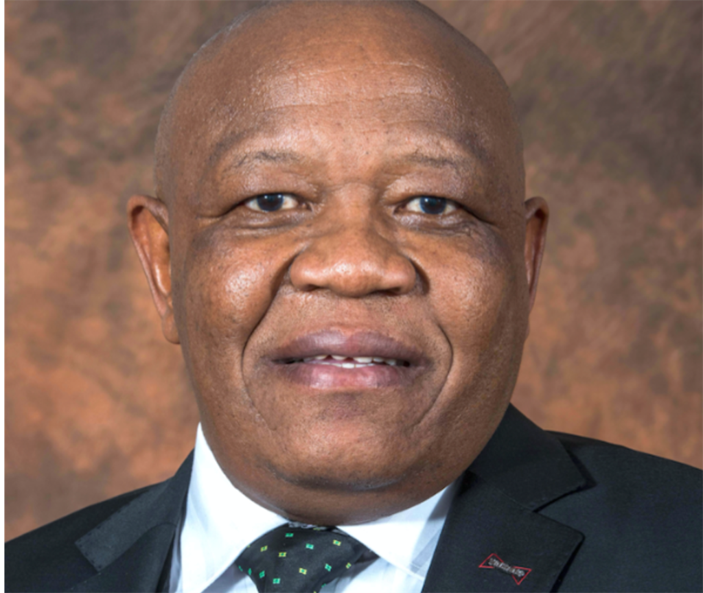 North West MEC for Cooperative Governance, Human Settlements and Traditional Affairs, Gordon Kegakilwe.