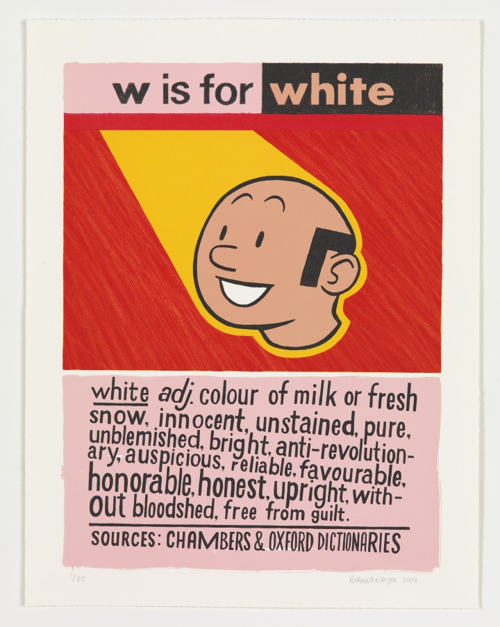 W is for White (from the Alphabet of Democracy ser