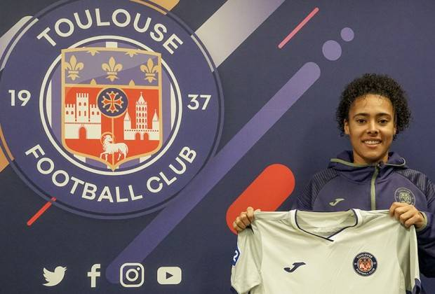 Banyana Banyana utility player Kelso Peskin has signed for Stade Brestois 29 Féminines in France. Picture: Safa
