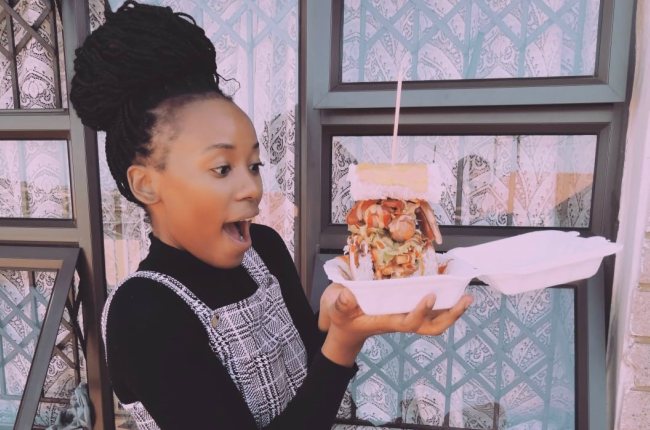 Sithembile Zondi started selling kotas after seeing how much people loved it in Johannesburg.