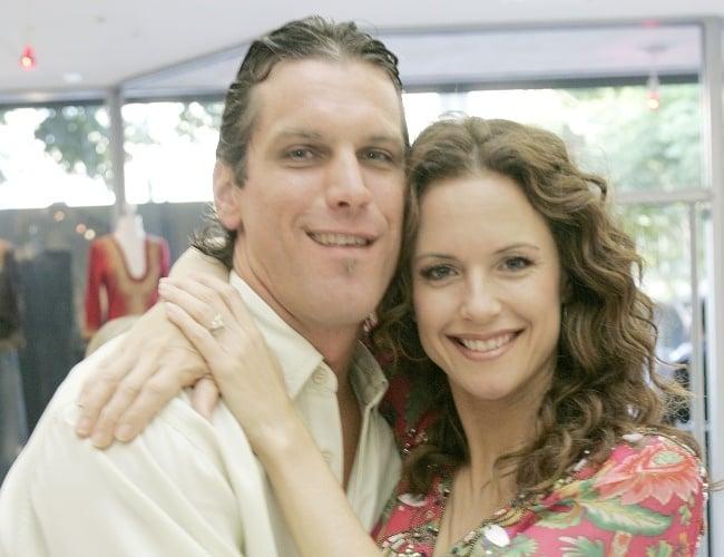 Kelly Preston and Chris Palzis
