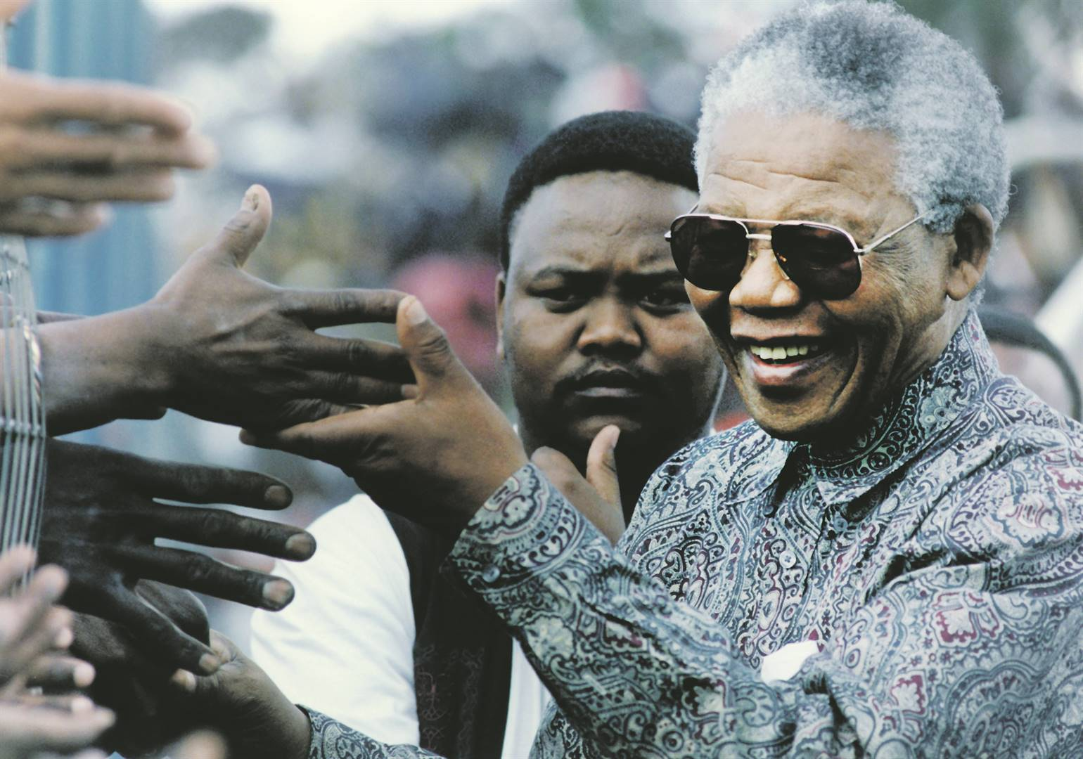 Striving for peace After his release from prison, Madiba and his acolytes worked with the little they had to bring SA out of apartheid. Picture: gallo images