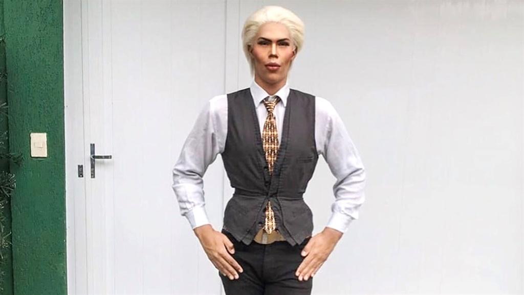 Felipe as Ken. Photo by @felipe__adam / Caters News