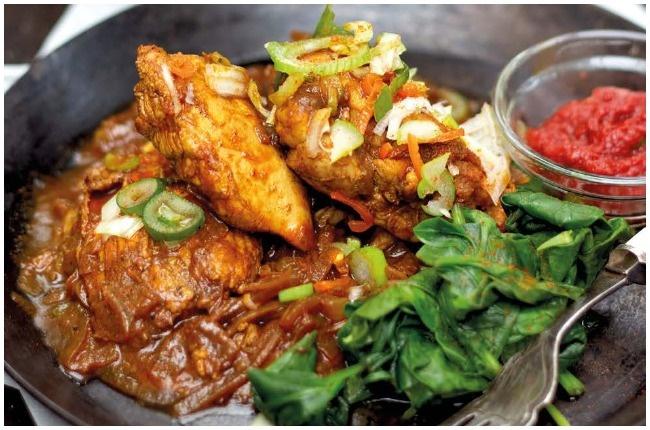 Ethopian Doro Wat Chicken.
