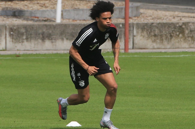 Leroy Sane urges David Alaba to resist Manchester City and Real Madrid