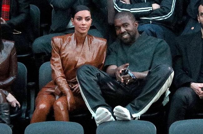 Kim Kardashian and Kanye West. (Photo: Getty Images)