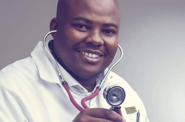 Dr Lehlohonolo Makhakhe has written the first comprehensive manual on African skin conditions