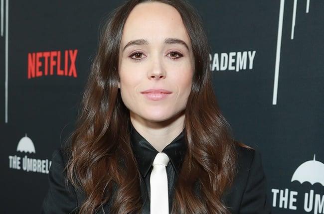 Ellen Page attends the premiere of Netflix's 'The Umbrella Academy.'