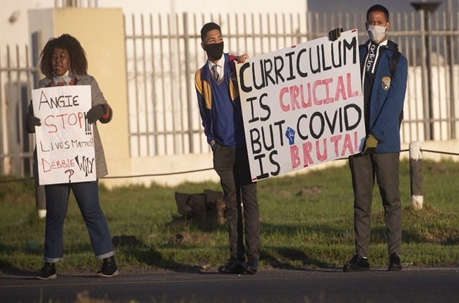 'As a matric student, I am very worried about this year'