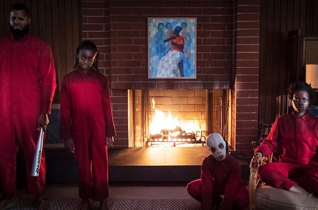Winston Duke, Shahadi Wright Joseph, Evan Alex and Lupita Nyong'o in 'Us'.