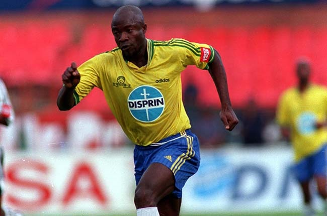 Roger Feutmba in action for Mamelodi Sundowns in 1999... (Gallo Images)