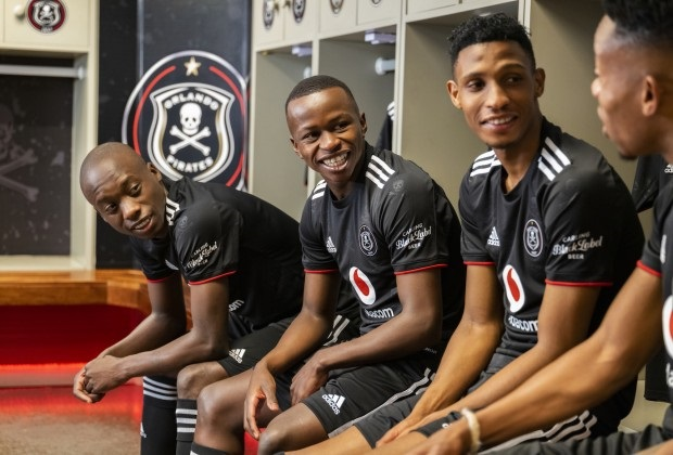 A quick glance at the DStv Premiership shows that less than half the clubs have title sponsors on the front of their jerseys – or even on the sleeves of their shirts. Photo: Supplied
