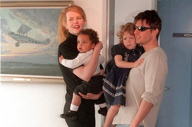 Nicole Kidman, Tom Cruise, Isabella Cruise, Connor
