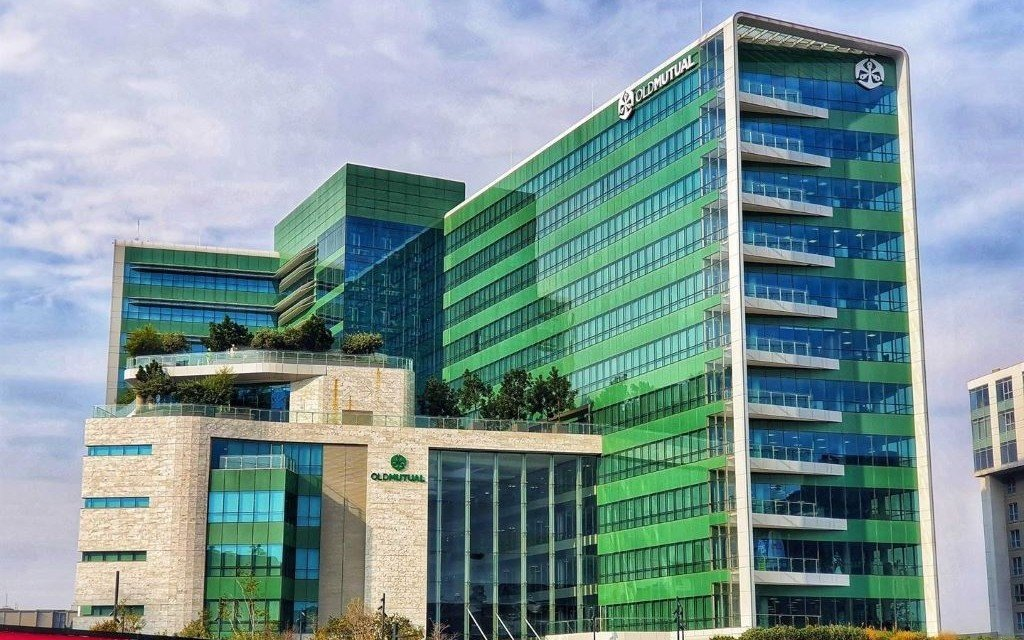 Old Mutual's head office in Sandton, Johannesburg. Photo: William Horne