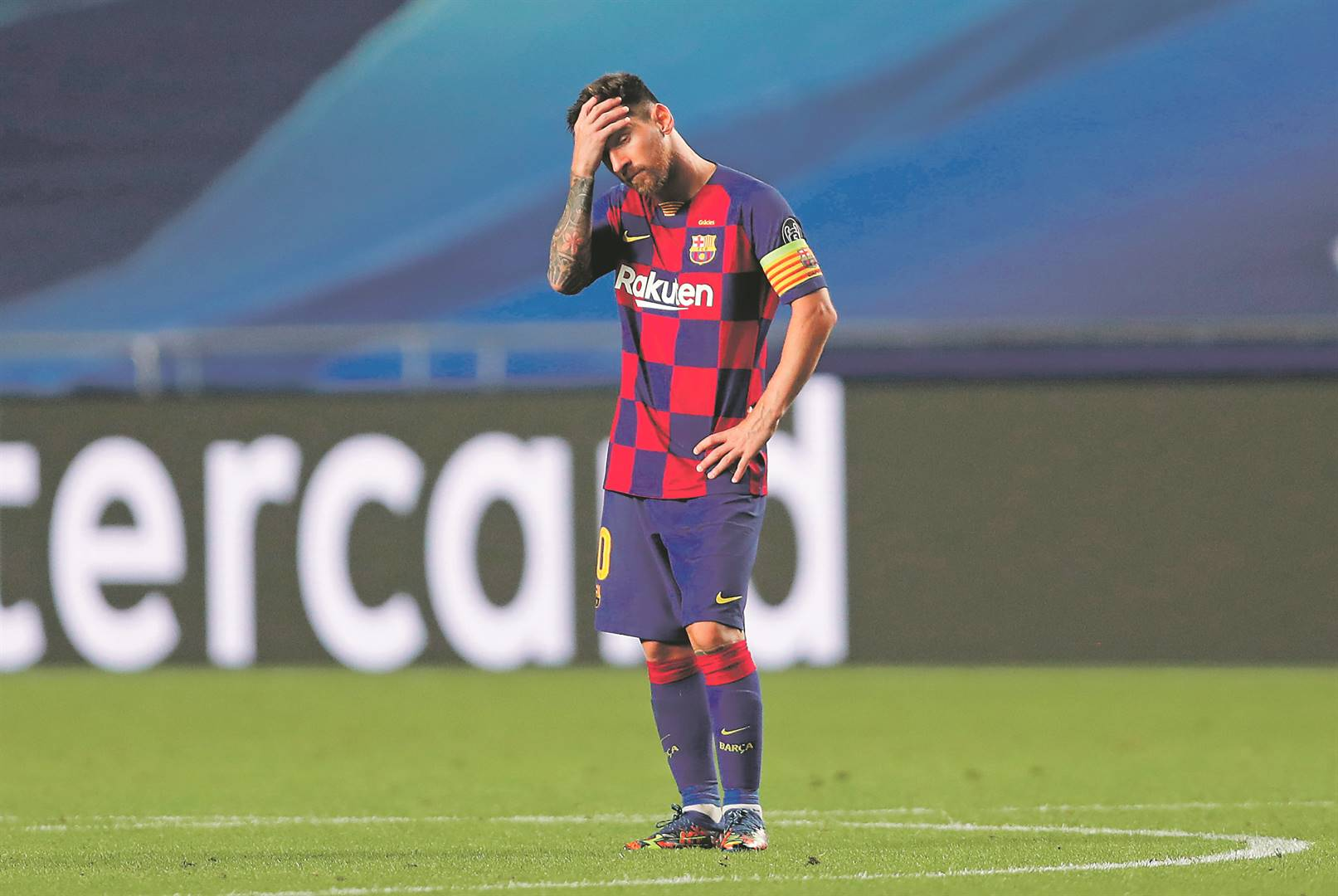 Lionel Messi wants to leave Barcelona. Picture: Manu Fernandez / Getty Images