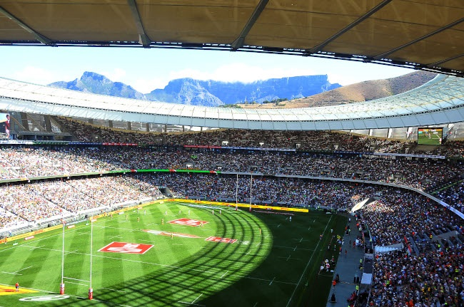 Cape Town Sevens (Photo by Ziyaad Douglas/Gallo Images)