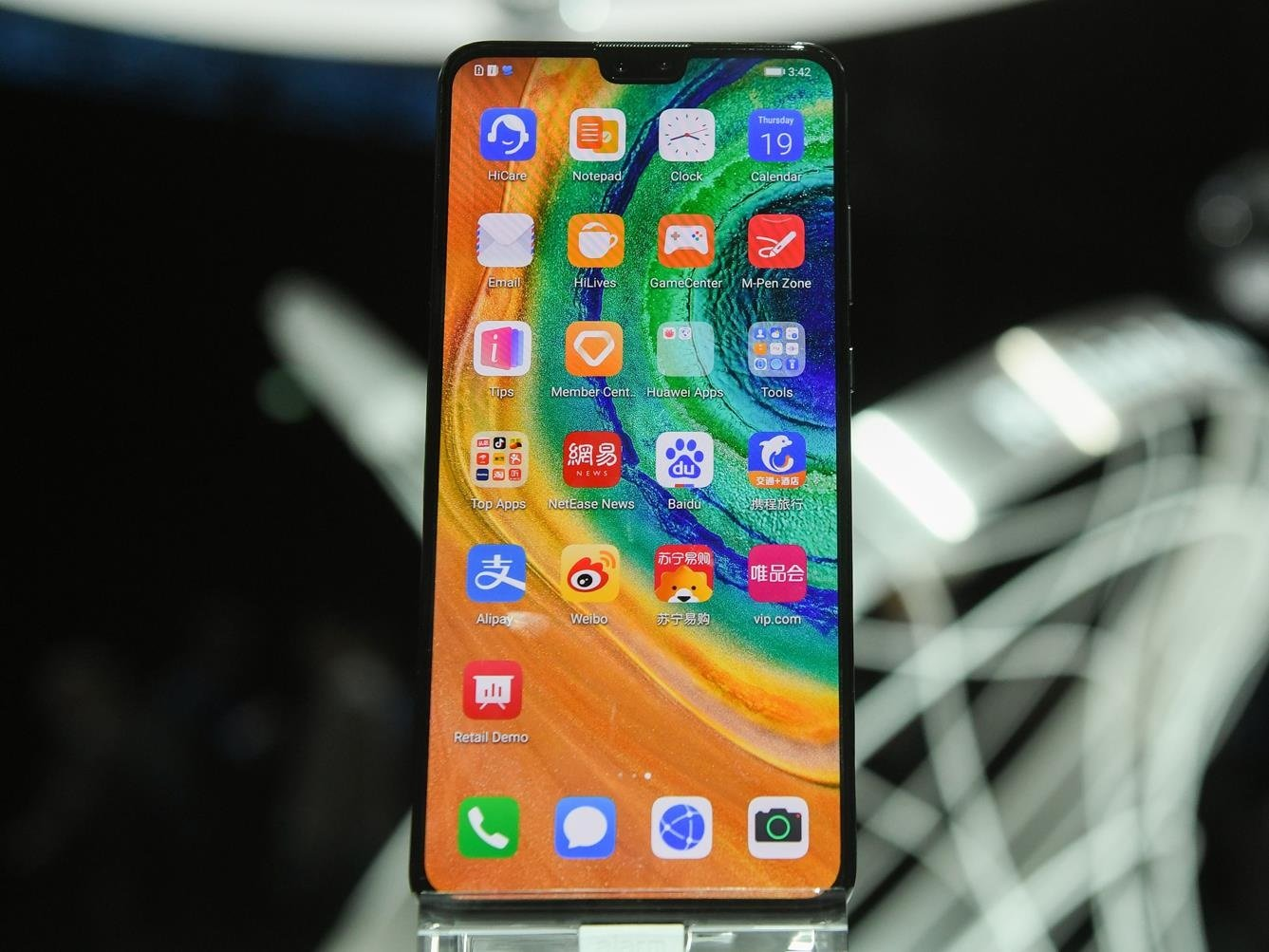 The Huawei Mate 30
