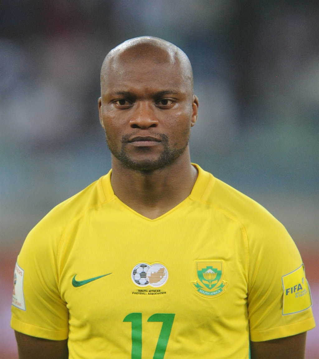 Tokelo Rantie of South Africa during the World Cup
