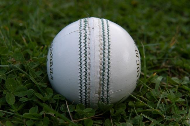 White cricket ball (Getty)