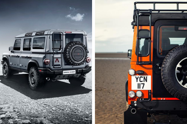 Land Rover Defender,ineos grenadier