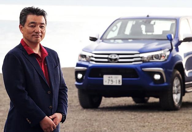 Toyota,Masahiko Maedahilux engineer
