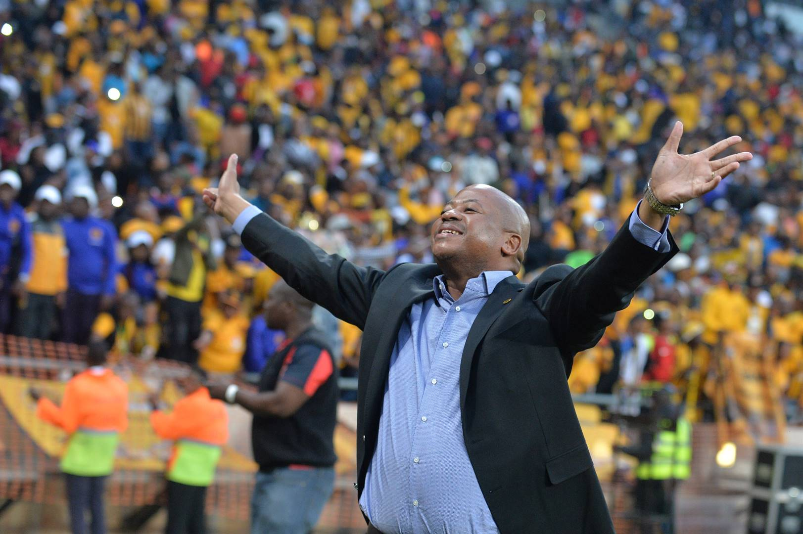 Bobby Motaung owes the public an explanation by virtue of being a public figure and being a top official at one of the most recognised football clubs, Kaizer Chiefs.  Picture: Lefty Shivambu / Gallo Images