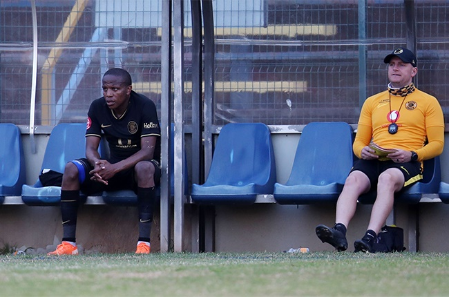 Lebogang Manyama of Kaizer Chiefs dejected during the Absa Premiership match between Baroka FC and Kaizer Chiefs at Bidvest Stadium on September 05, 2020 in Johannesburg, South Africa.